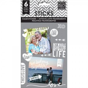 Me-and-My-Big-Ideas-Pocket-Pages-Clear-Stickers-True-Love-PPS13
